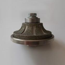Meule Diamant Concave avec Retour Droit