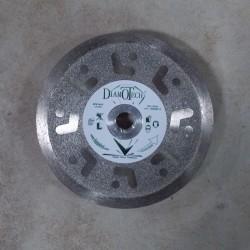 Disque Diamant Coupe et Ponce Dépôt-Electrolytique + Jante Continue Lisse Grés Céram / Céramique