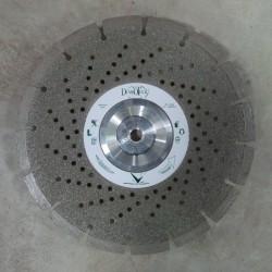 Disque Diamant Coupe et Ponce Dépôt-Electrolytique + Segments Laser Pierre Calcaire / Grés