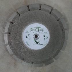 Disque Diamant Coupe et Ponce Dépôt-Electrolytique + Segments Laser Matériaux Abrasifs
