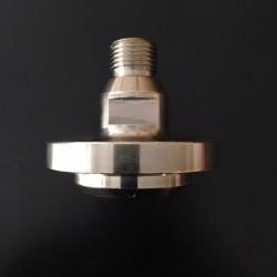 Monture R1/2 gas - Centreur 50 + 3 Vis pour plateau à décaisser